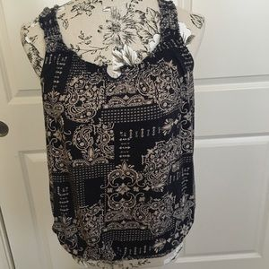 Sonoma Navy Blue Tank Top